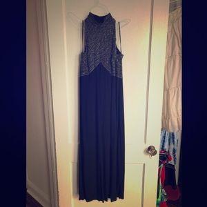 Vintage Virgo II Evening Gown, 14, Fair Condition